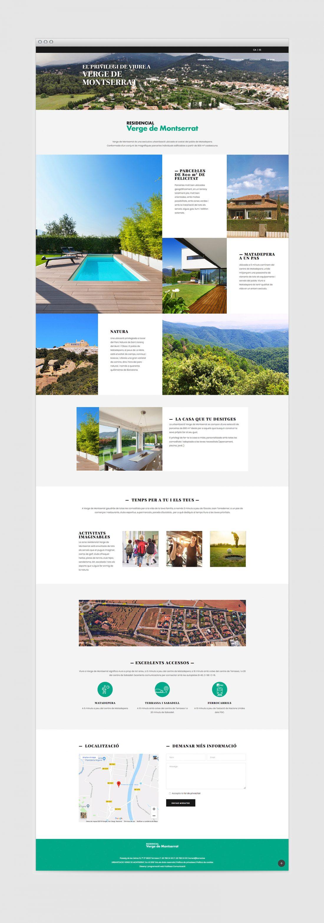 Landing Page campaña SEM