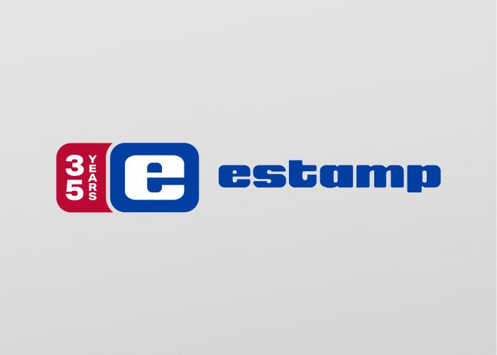 Disseny logotip a Terrassa, Estamp